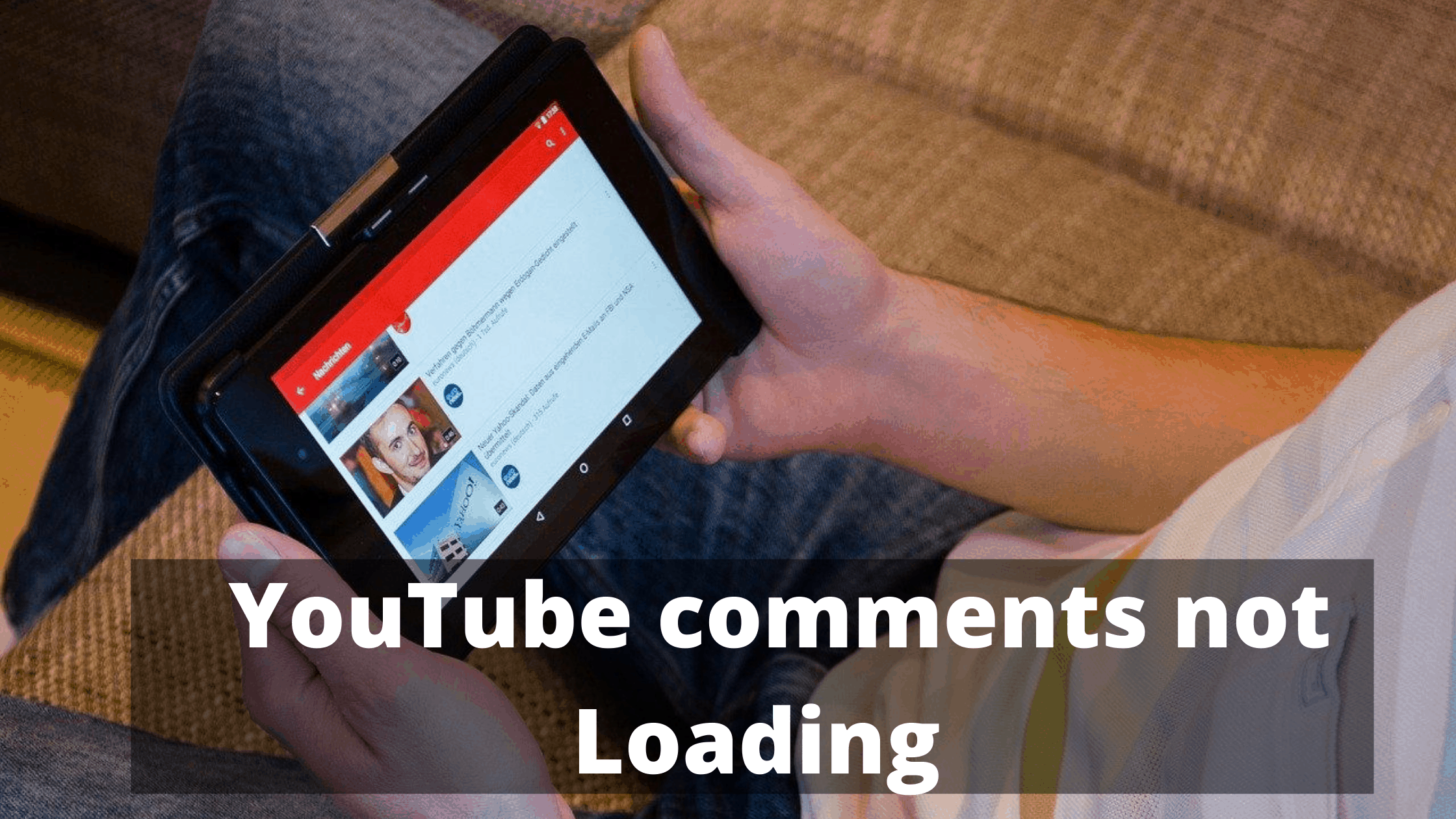 Youtube comments not loading