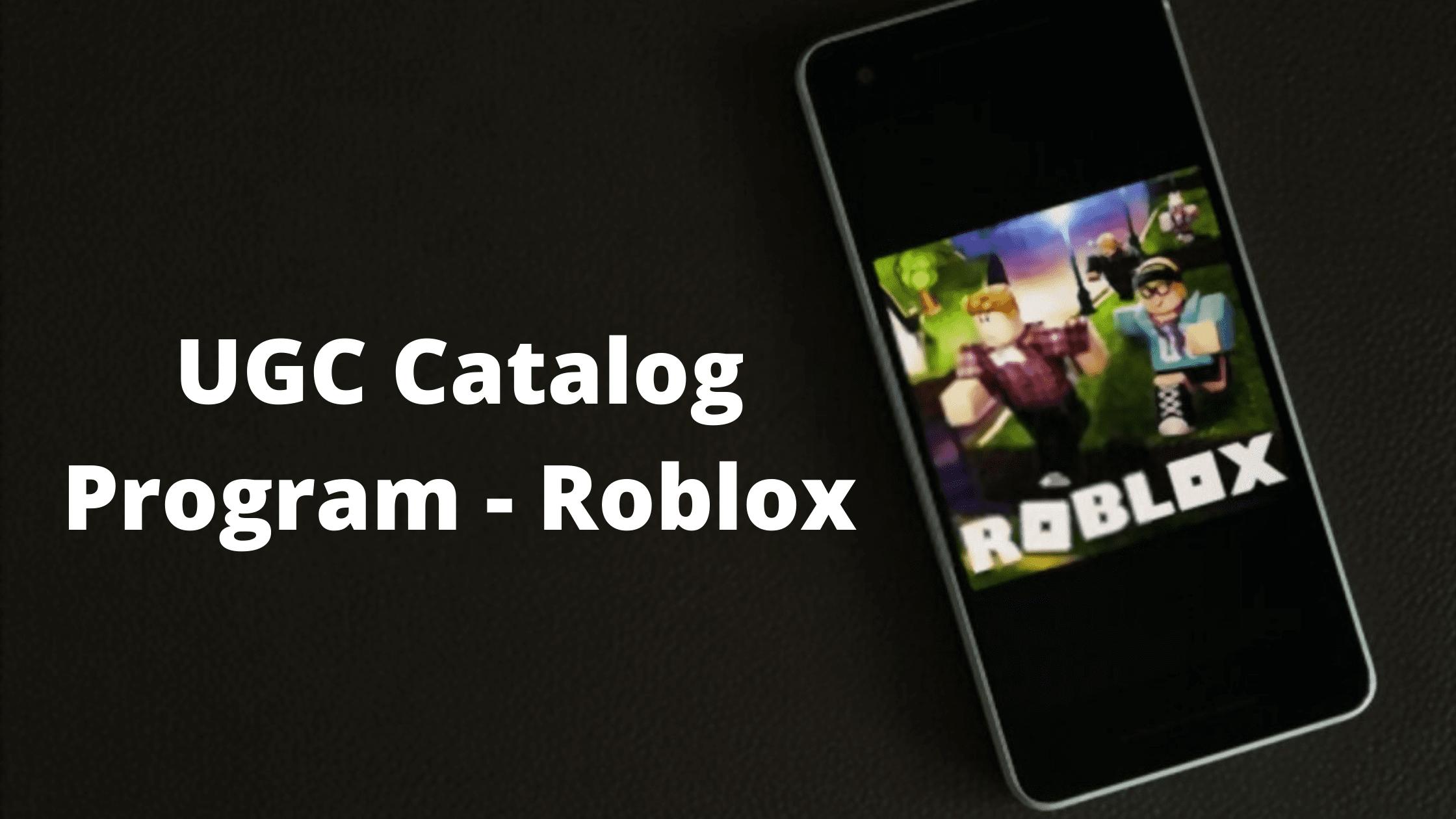 UGC Catalog Roblox
