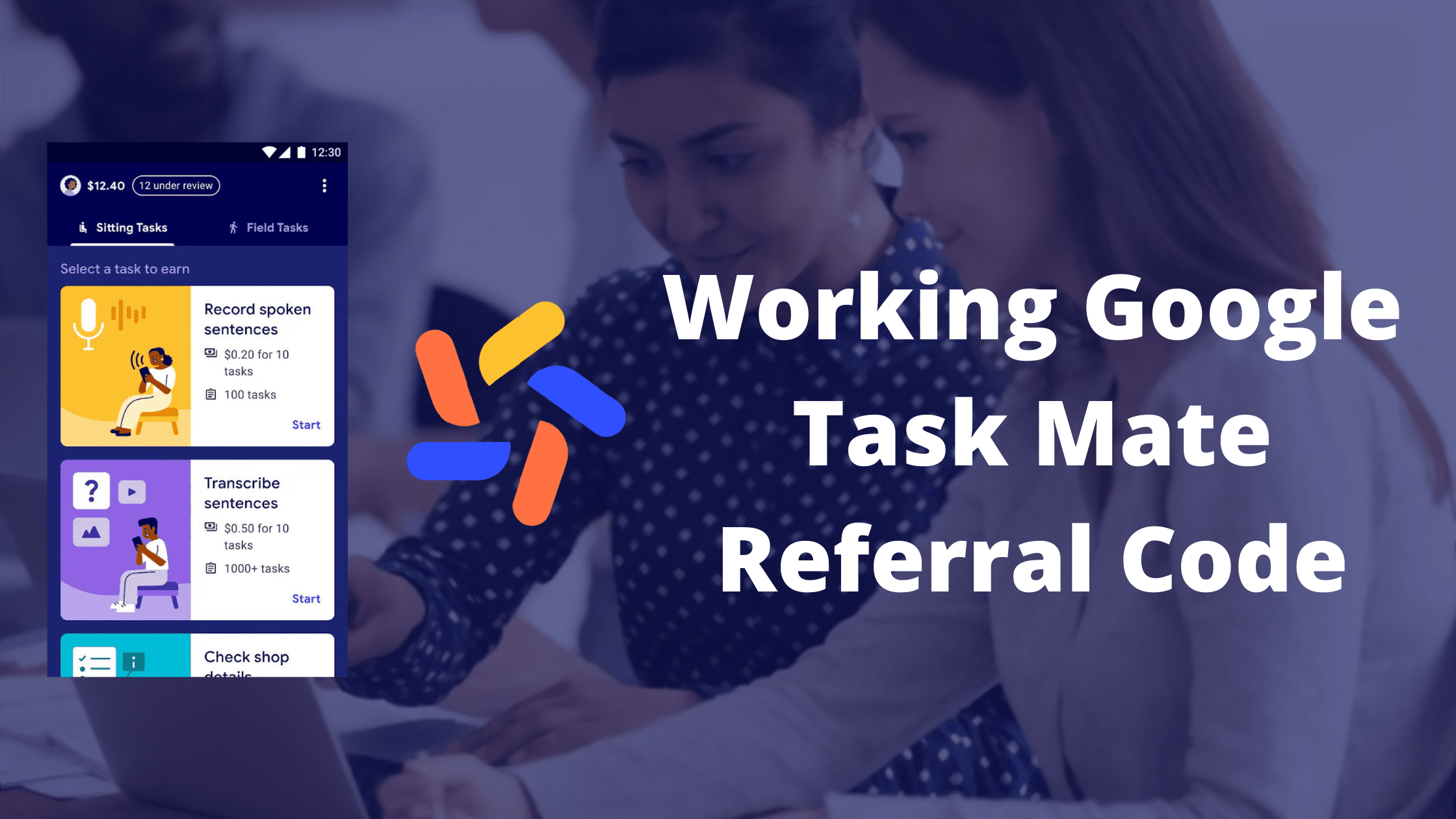 Working Google Task Mate Referral Code