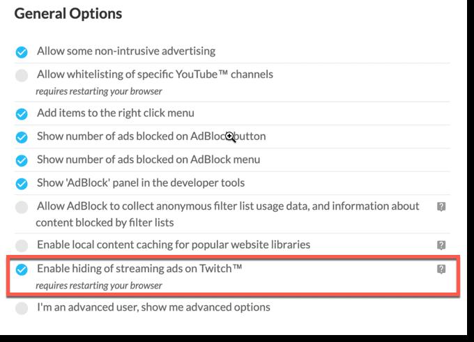block twitch ads adblock
