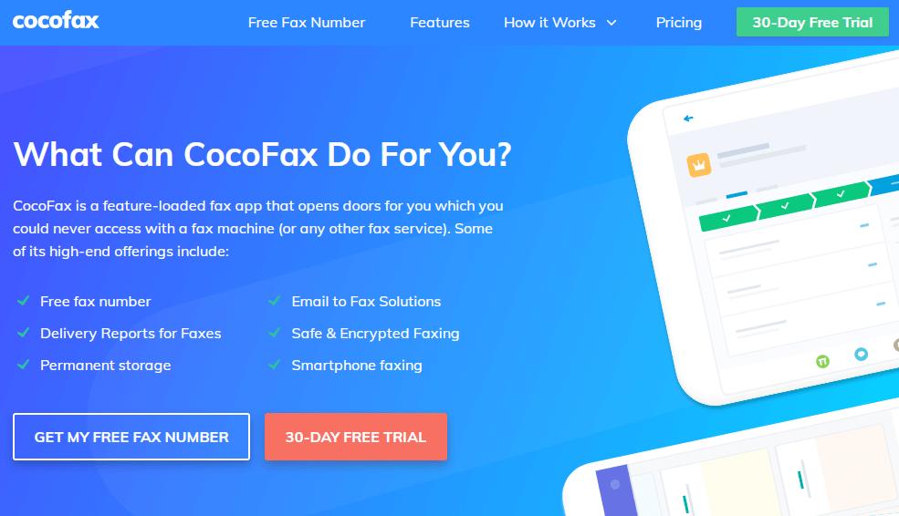 cocofax features