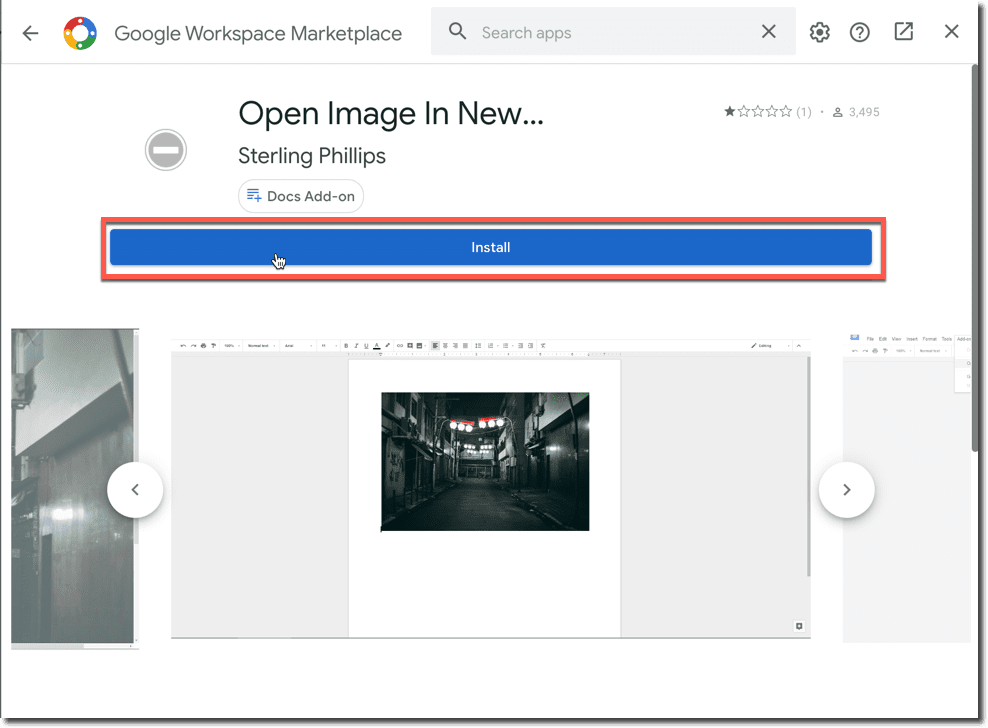 open image in new tab