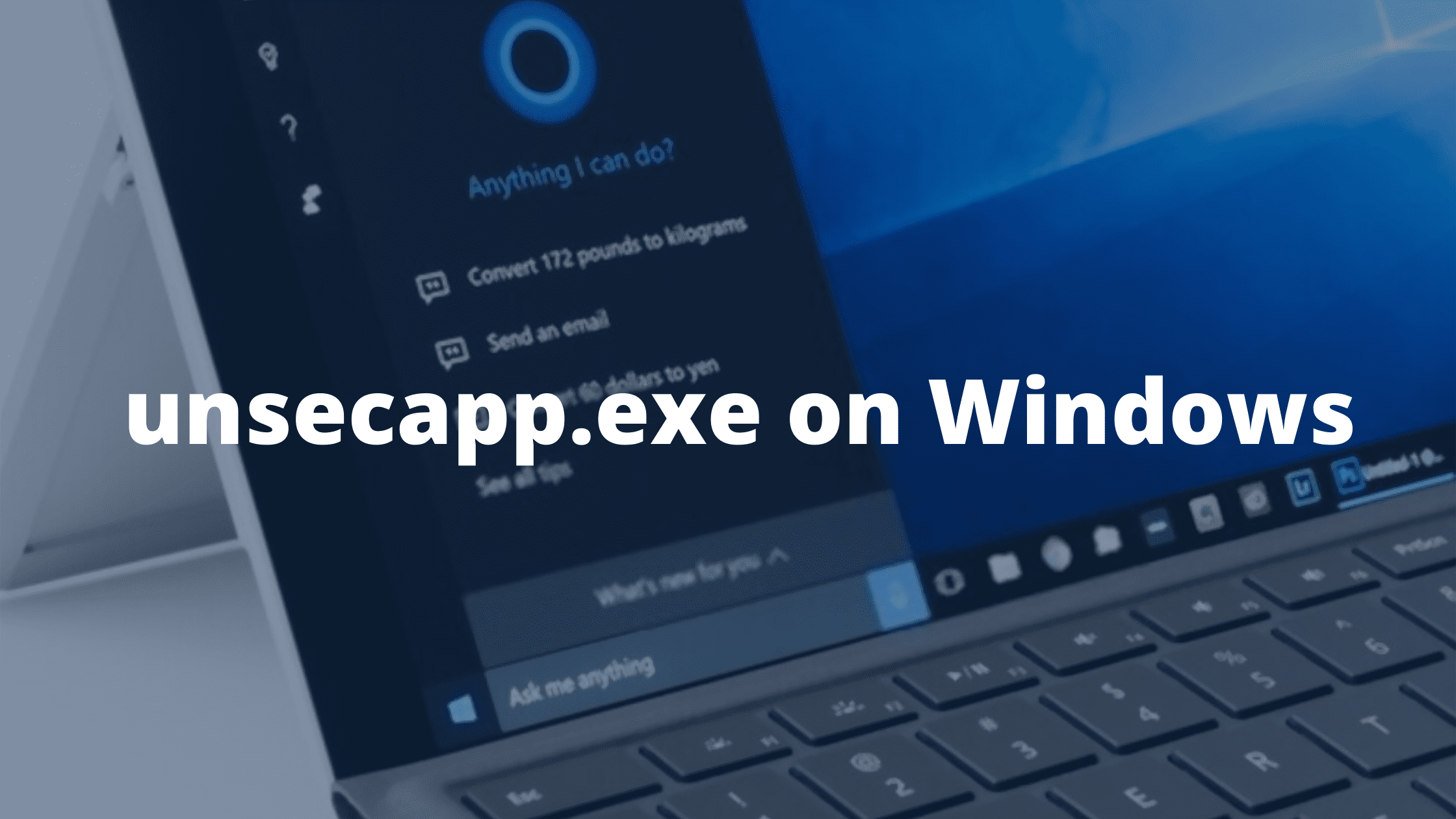 unsecapp.exe on Windows