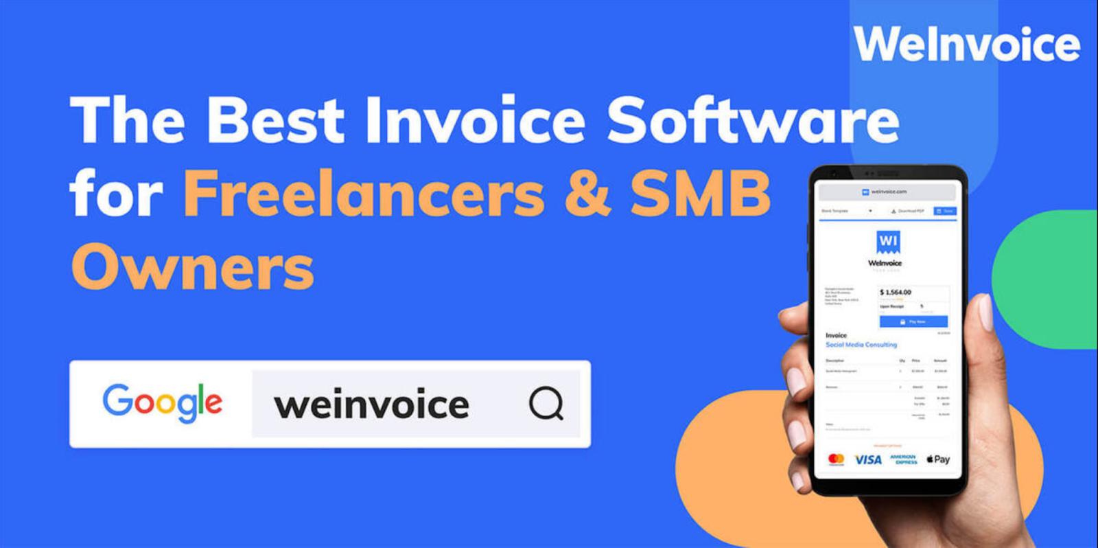 create professional invoice