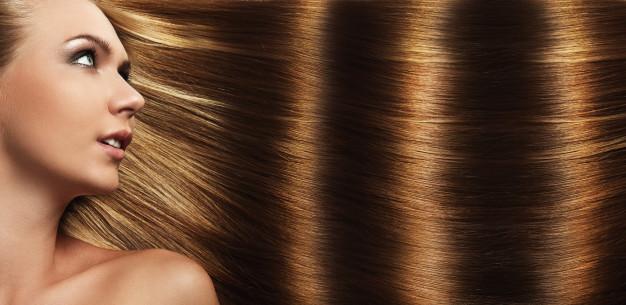 healthy hair routine