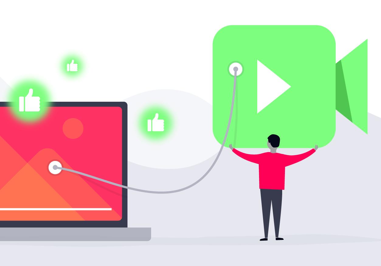 organic video audience