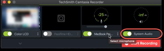 record discord audio camtasia