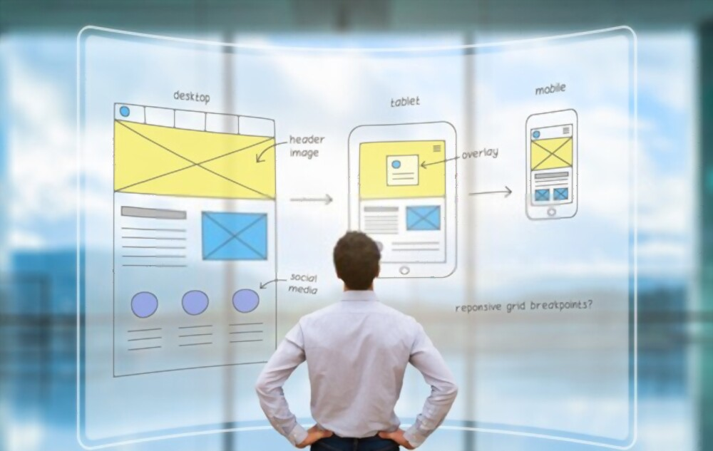 web designing user experience